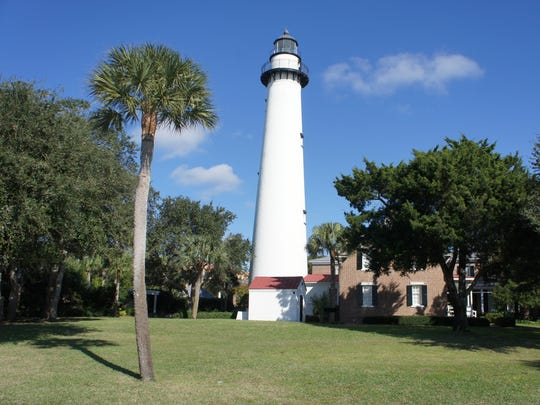 Climb the circular steps of the lighthouse for a panoramic