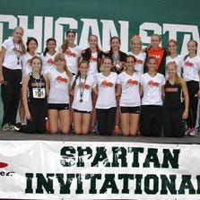 The Northville girls cross country team finished third in the Elite Division at the MSU Invitational.