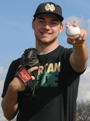 Oshkosh North's Alex Hintze will be attending the University of Connecticut on a baseball scholarship next fall.