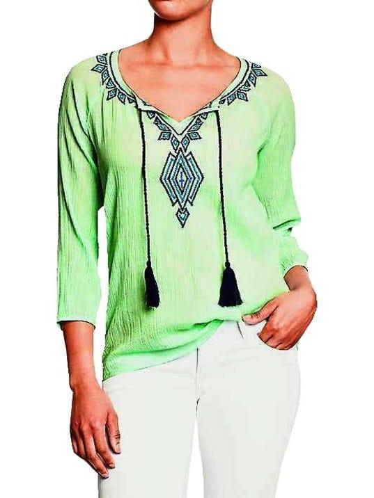 Tassel shirt
