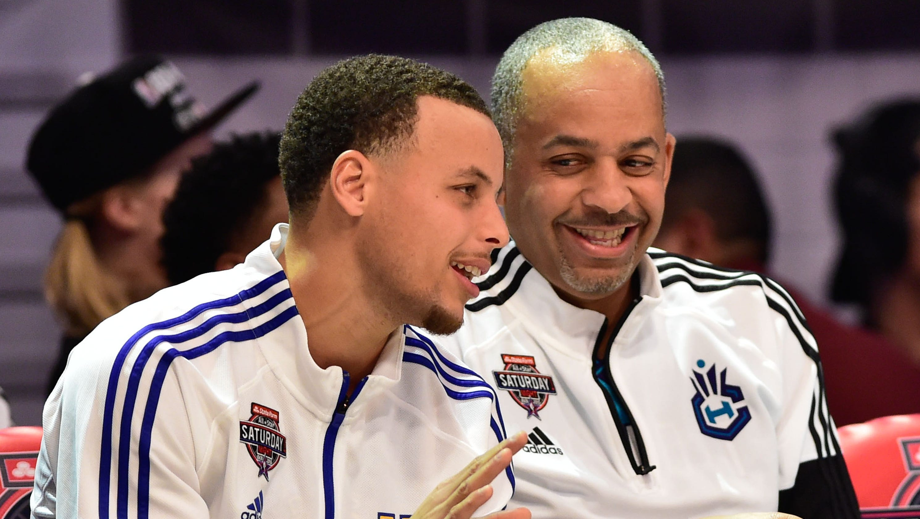Stephen Curry wants to play in the NBA as long as his father Dell Curry