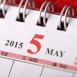 May 2015 - Calendar series