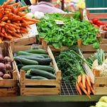 Vegetable market.