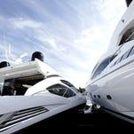 Luxury boats.