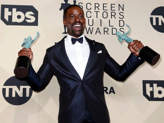 Sterling K. Brown had such a good night his jacket