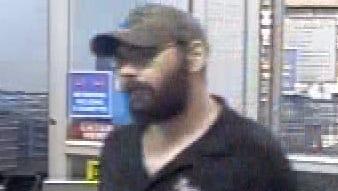 Steven Wiggins, seen Tuesday night in a local Walmart.