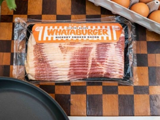 Whataburger bacon is available for purchase at H-E-B stores and Central Market Stores. Whataburger made the announcement on Tuesday, May 29, 2018, at its website.