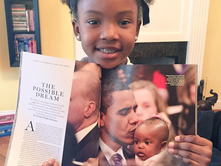 Baby Kissed By Obama, Now Grown Up