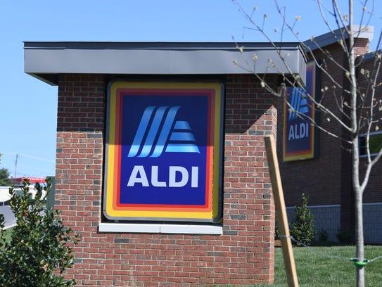 Aldi in Staunton Frontier Center is set to open May