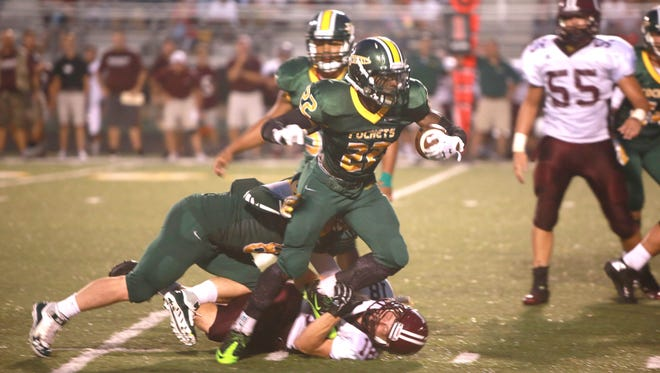 Shaquan Jones and Reynolds travel to South Point on their latest game Friday night.