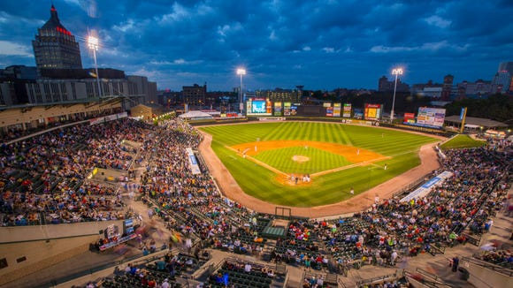 What's better in Rochester than a gorgeous night at Frontier Field? Not much.