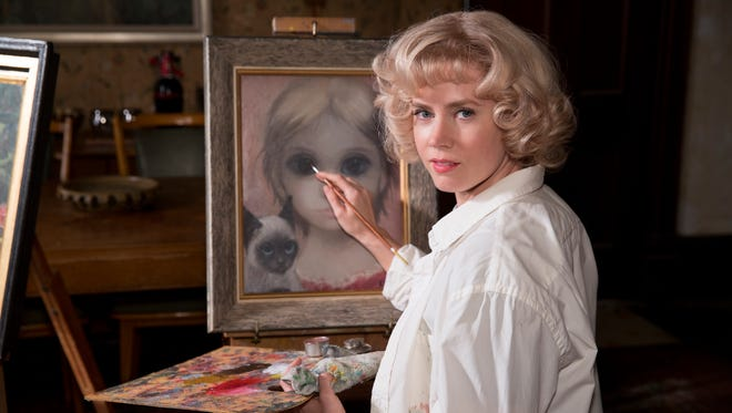 "Amy Adams plays real-life artist Margaret Keane in the upcoming movie ""Big Eyes."""