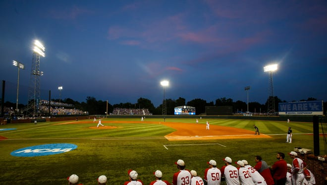 Kentucky takes on NC State at Cliff Hagan Stadium. June 3, 2017