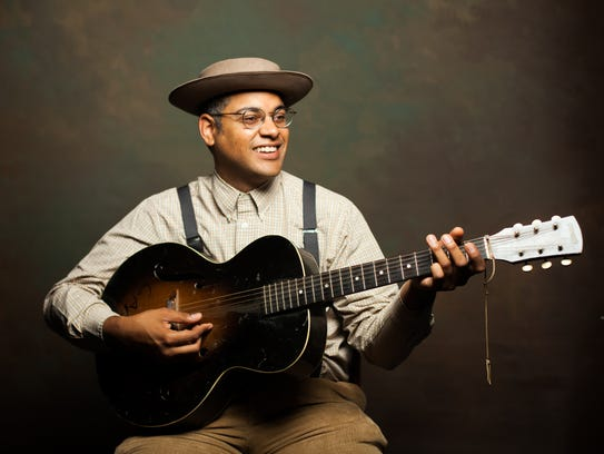 Dom Flemons performed at the opening ceremonies for