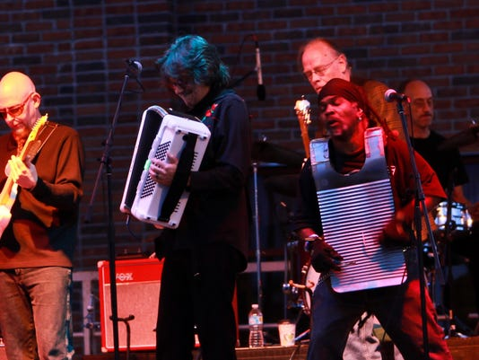 Monsieur Guillaume & HIs Zydeco Hepcats by Linda Michelle Dobel