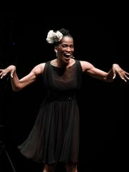 The dancer Theara Ward will appear Saturday at a Black