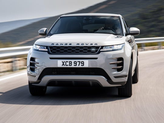 The 2020 Ranger Rover Evoque channels the look of its