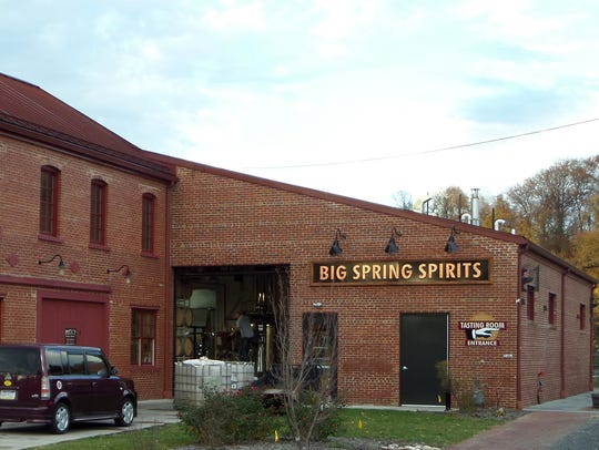 Big Spring Distillery is located in an old match factory