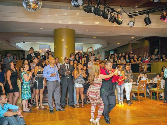 Learn to salsa dance for free every Saturday at Kento's
