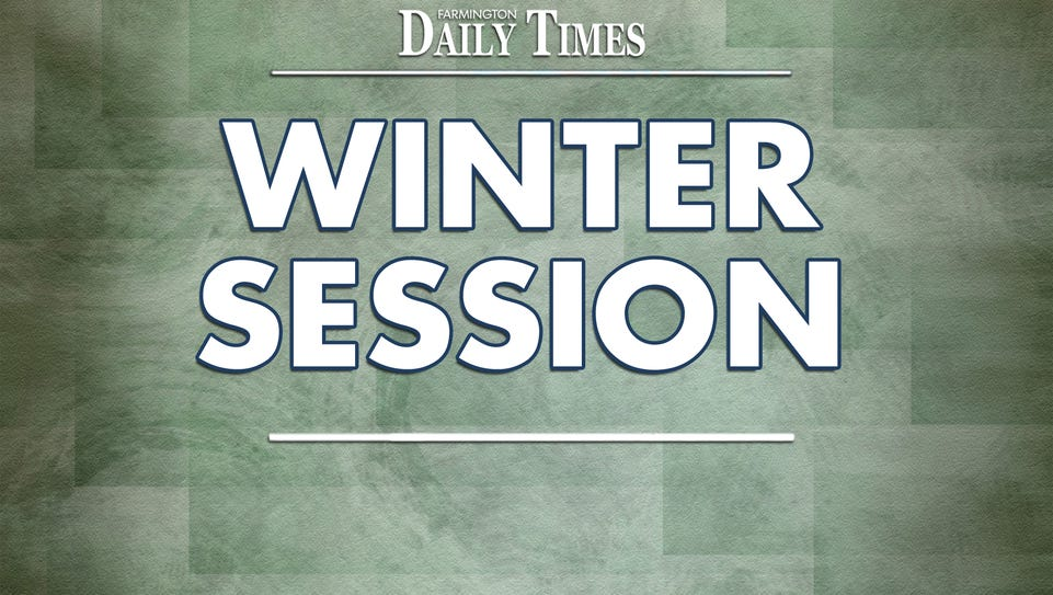 Winter legislative session
