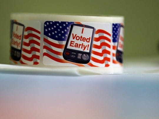 Associated Press  Early voting begins Monday for the November election. The ballot has seven proposed amendments to the Texas Constitution.