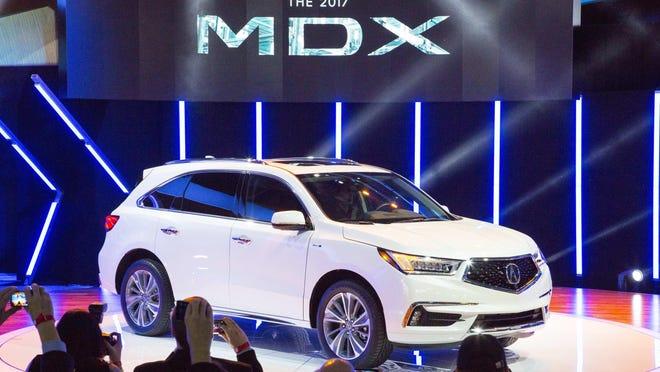The 2017 Acura MDX
