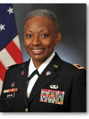 Army Col. Mary L. Martin, Commander of the Defense Equal Opportunity Management Institute