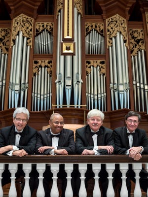 Organists Brad Cunningham, Alvin Blount, Jim Nord and Keith Shafer will perform during A Thanksgiving Hymn Festival, a virtual performance set for Nov. 22.