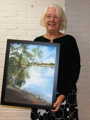 Jackie Mickler will exhibit her works of art in the