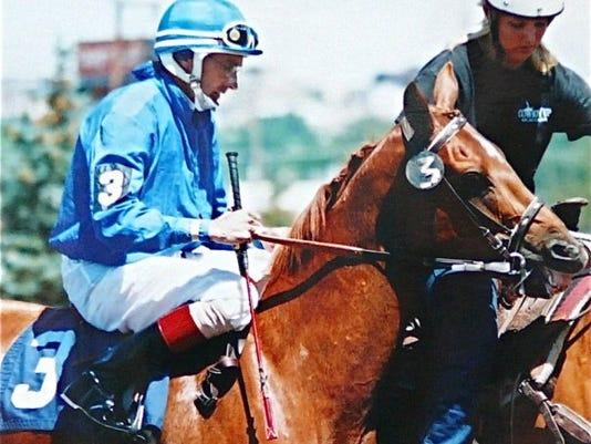 Clint Goodrich jockey