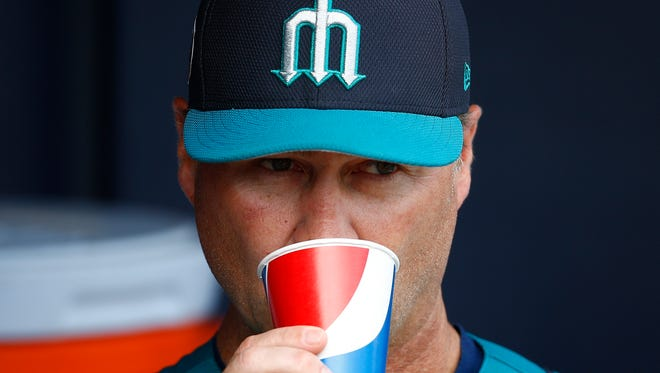 Mariners manager Scott Servais