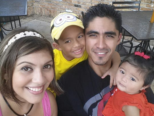 Jose Asencio Escobar has two U.S.-born children with