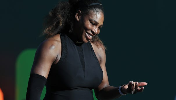 Serena Williams has won three of her 23 Grand...
