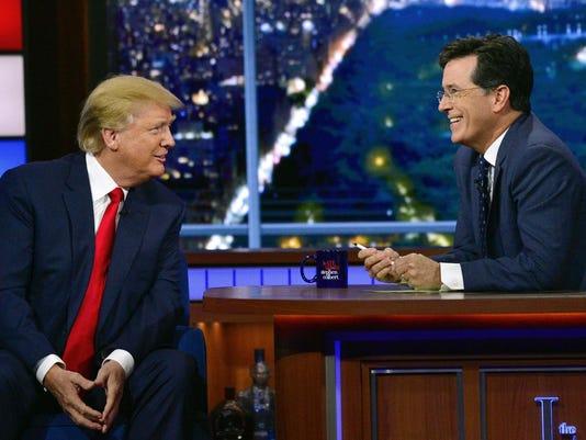 Donald Trump, Stephen Colbert