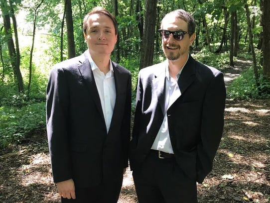 Brothers Paul (left) and JJ Horner.