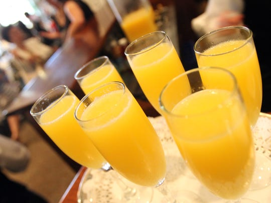 Galentine's Day? Bring on the mimosas.