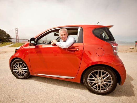 Jack Hollis, Scion VP with the Toyota iQ.