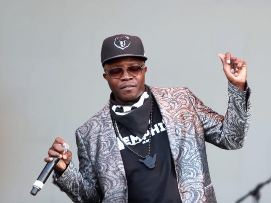 Memphis artist Al Kapone performs at Beale Street Music