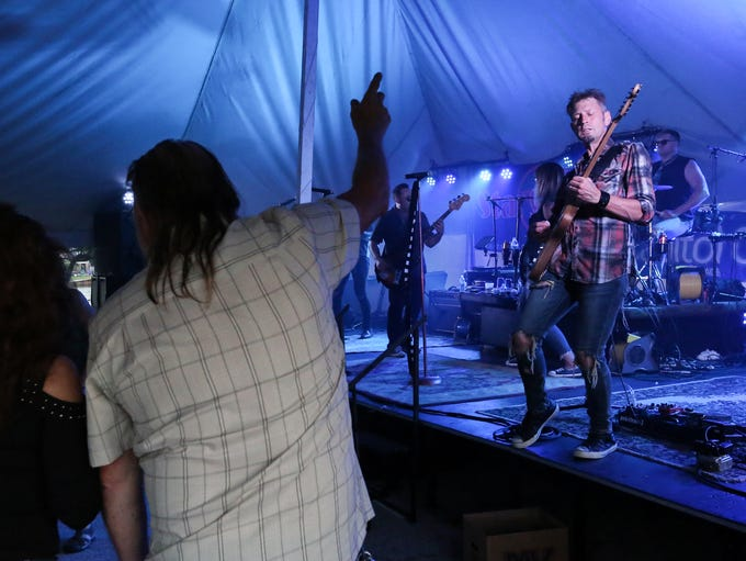 Star Six Nine performs during Subfest Saturday, July