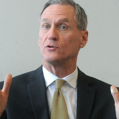 Dennis Daugaard's chief of staff said the governor