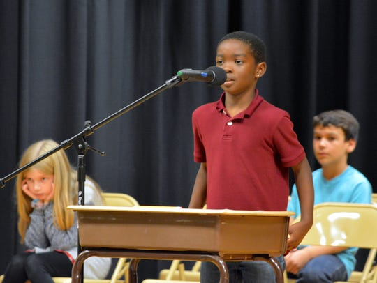 Southern Sussex Rotary spelling bee winner Rosnell