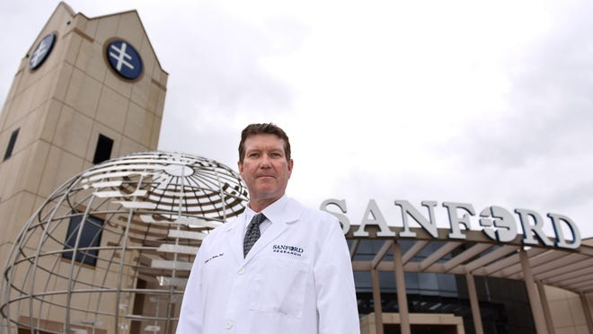 Dr. David Pearce, president of Sanford Research, says Sanford Health is allowing researchers to take their discoveries in a laboratory and turn them into treatments for people.