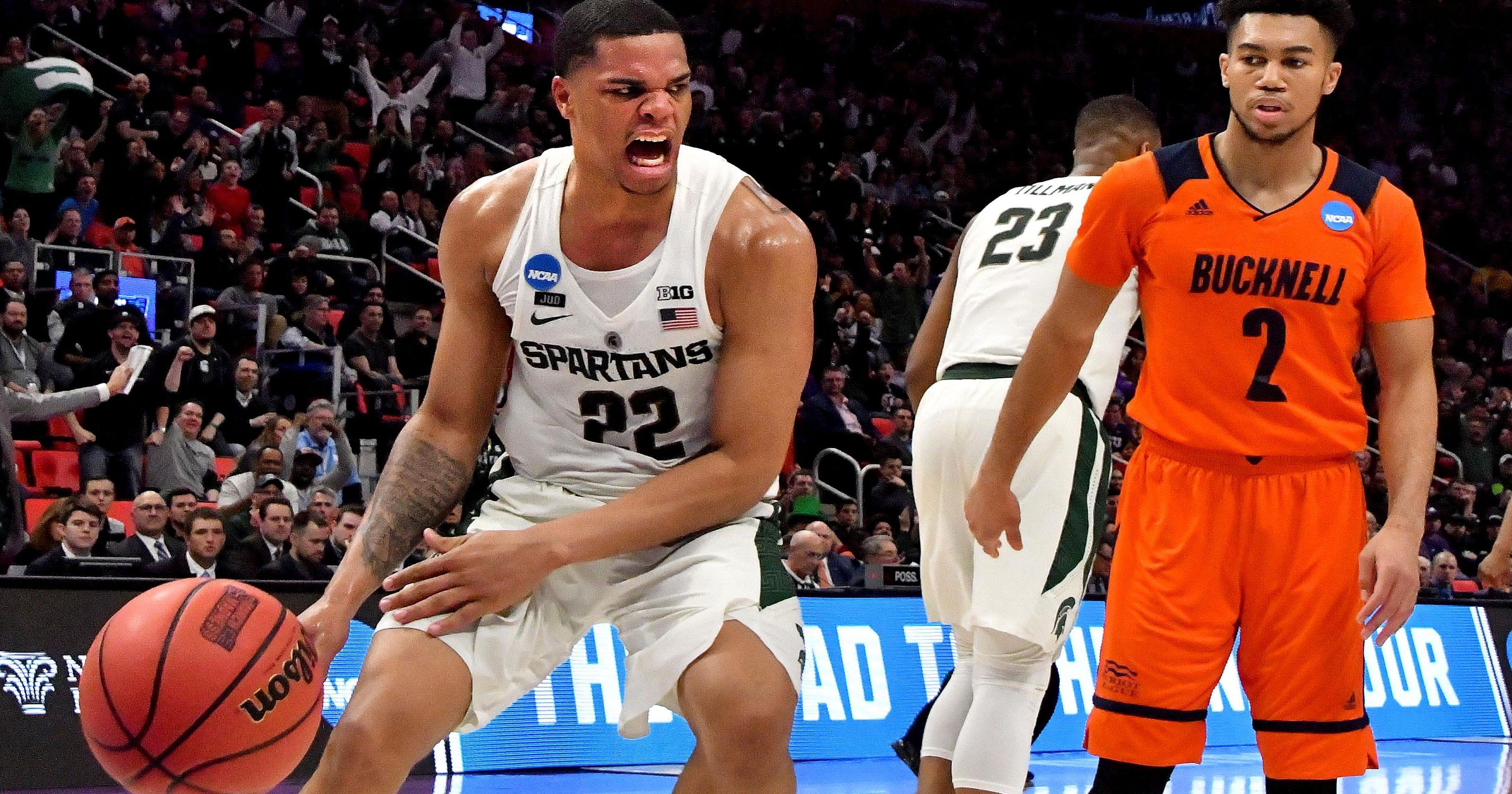 the best attitude 96f29 d7369 MSU's Miles Bridges declares for NBA Draft