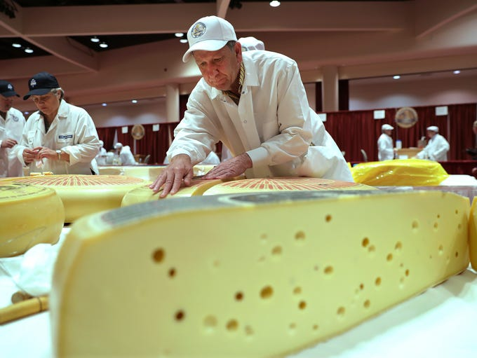 Christophe Megevand, of Schuman Cheese, New Jersey,