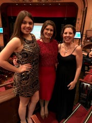 Denise Nordheimer (right) with her daughter, Lily Grace Nordheimer (left), and colleague, Marci McNair at the Grand Gala.