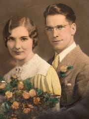 Wendell and Esther Haskins of Fond du Lac were married 70 years before Wendell's death.