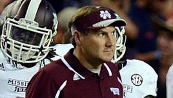 Mississippi State coach Dan Mullen will lead the No.
