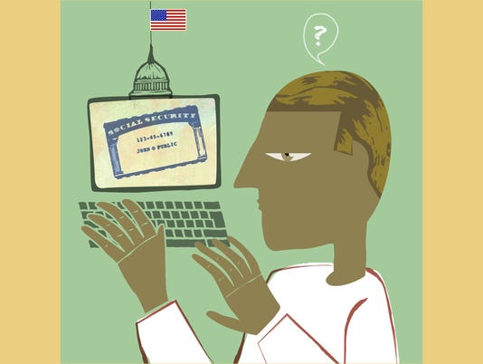 ILLUSTRATION: Online Social Security