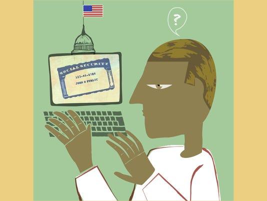ILLUSTRATION: Online Social Security
