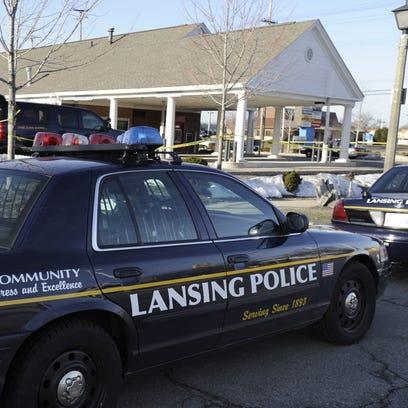 Lansing Police on the scene as State Police investigate